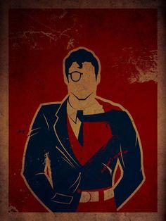 les posters de super-heros de Danny Haas