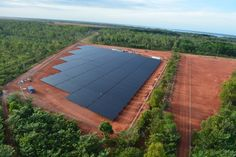 Weipa: Aerial image stage one