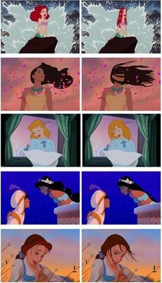 disney memes How their hair is supposed to - memes Funny Disney Jokes, Disney Memes, Disney Cartoons, Funny Cartoons, Disney Princess Memes, Funny Princess, Disney Princesses, Disney And Dreamworks, Disney Pixar