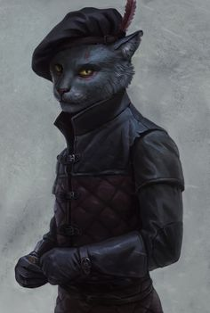 ArtStation - tabaxi, Eugene Rusanova No matter if whether it be with regard to game Cat Character, Fantasy Character Design, Character Design Inspiration, Character Concept, Dungeons And Dragons Characters, D D Characters, Fantasy Characters, Fantasy Kunst, Fantasy Art