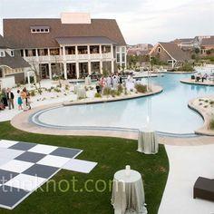 Watersound Beach Club - Santa Rosa, FL - Pool Wedding Reception