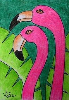 Art Drawings For Kids, Bird Drawings, Oil Pastel Art, Oil Pastel Drawings Easy, Animal Art Projects, 2nd Grade Art, Easy Canvas Art, Art Classroom, Art Club