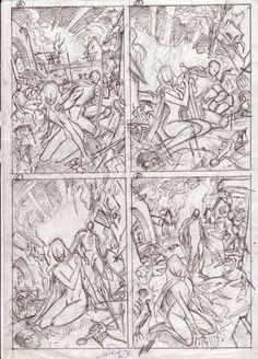 Lady Death Cover Prelims - Ivan Reis Comic Art