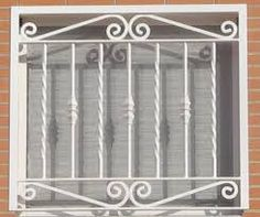 Related image Window Grill Design Modern, Balcony Grill Design, Grill Door Design, Balustrade Inox, Steel Bed Design, Window Security Bars, Burglar Bars, Louvre Windows, Welding Design