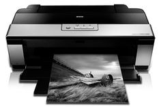 Epson Stylus R2880 plug in connect printer for 13 x 19 paper @ $499.99 and uses 8 inks @ $13.49 each