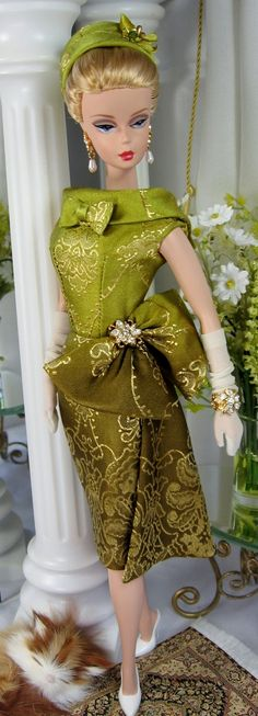 Eastern Promise for Silkstone Barbie and similar size dolls on Etsy now