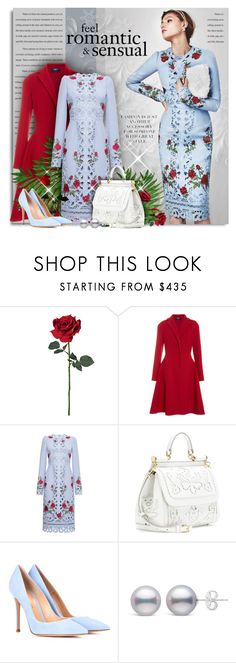 """Fancy Brunch"" by petri5 ❤ liked on Polyvore featuring Paule Ka, Dolce&Gabbana and Gianvito Rossi"