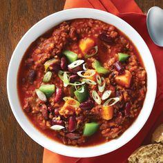 Coconut Curry Chili Recipe - Clean Eating