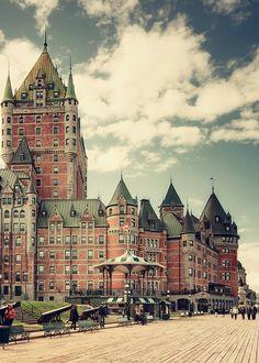 ¡Que frío lunes! Los invitamos a viajar a Québec, Canada #Travel #Paisajes
