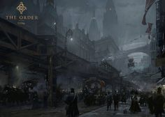 The Order 1886 Concept Art - London