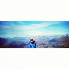 Photo by barbara_vives  New Zealand #nz #queenstown #quast #coronetpeak #missthis #bestpic #sky #perfection #picoftheday #love #cute
