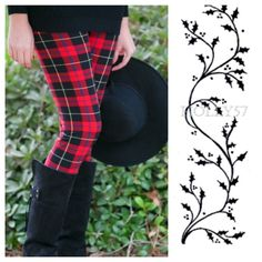 ✨PRICE DROP✨ Tartan Plaid Soft Cotton Leggings Incredibly soft plaid leggings - perfect for the holidays. 95% Cotton,  5% Spandex.  One Size fits up to size 12 comfortably. Pants Leggings