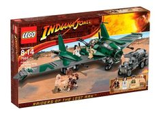 LEGO  Indiana  Jones  fight  on  the  flying  wing  7683  discontinued  by  manufacturer