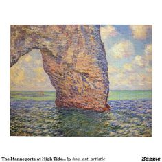 The Manneporte at High Tide Monet Fine Art Puzzle