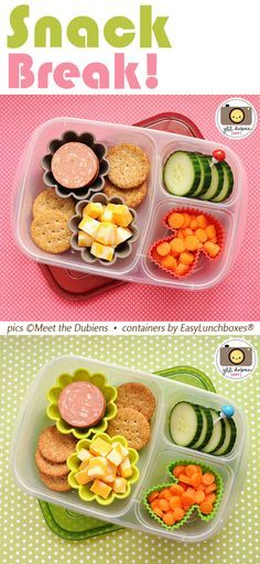 """On the go? Pack your own """"Lunchables"""" snacks"""
