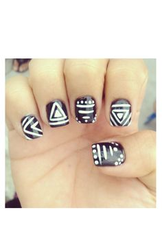 nail design cool with a different color