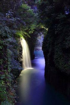 Takachiho Gorge, Miyazaki, Japan...