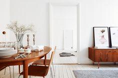 Binnenkijken in een mooi minimalistisch appartement in Stockholm - woonblog