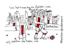 #fenaja door Henk Veen #Ajax