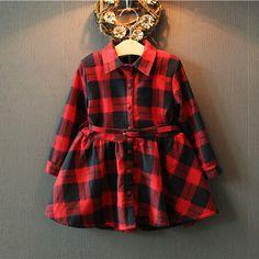 $20.90 (Buy here: https://alitems.com/g/1e8d114494ebda23ff8b16525dc3e8/?i=5&ulp=https%3A%2F%2Fwww.aliexpress.com%2Fitem%2FNew-brand-Kids-Girls-Plaid-Dress-Spring-Autumn-Children-s-clothing-cute-long-sleeve-dresses-winter%2F32557201486.html ) New brand Kids Girls Plaid Dress Spring Autumn Children's clothing cute long sleeve dresses winter vestidos for just $20.90
