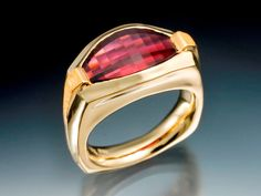Mens Garnet Sunset Ring - Skylight Jewelers