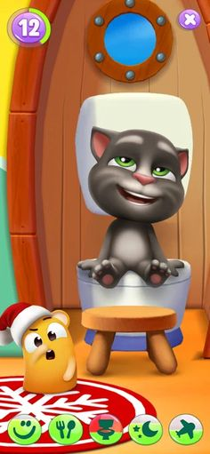 Mein Talking Tom 2 im AppStore Talking Tom Cat 2, Ipod Touch, Ios, Mini Games, Games To Play, Disney Art Style, Im App, Butterfly Wallpaper Iphone, Pets