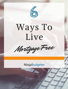 How To Live Mortgage Free – 6 Simple Hacks To Make It Happen Think mortgage free living is outside of your reach? Think again. There are several ways that you can achieve mortgage free living quicker than you think. Mortgage Companies, Mortgage Tips, Mortgage Rates, Home Insurance, Pay Off Mortgage Early, Mortgage Payment Calculator, Refinance Mortgage, Loans For Bad Credit