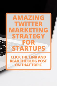 What social media marketing strategy should the startups focus on? What digital marketing ideas should be included in the business marketing strategy? Read the answers of those marketing questions in this blog post. #Twitter #Marketing Social Media Digital Marketing, Online Marketing Strategies, Marketing Ideas, Business Marketing, Online Business, Twitter For Business, Poster, Competitor Analysis, Blog