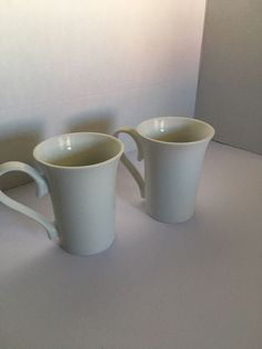 rouge /& bleu Lot de 4 mugs-thé-café-latte