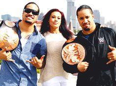 The Usos with Tamina