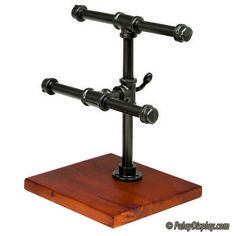 2-Tier Pipe Jewelry Display - Small
