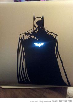 Batman Laptop Decal...this is an acceptable christmas present.