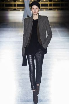 6. Haider Ackermann Fall 2014 Ready-to-Wear Collection Slideshow on Style.com Although these pants are fitted they aren't high waisted but still resemble the pantaloons from the Empire Period.