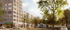 Immobilien: Münchens neuer Stadtteil Freiham kann weiter wachsen. Quelle: Gewofag, Urheber: 03 Architekten http://www.immobilien-zeitung.de/1000041899/muenchens-neuer-stadtteil-kann-weiter-wachsen?