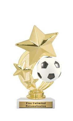 Spinner Soccer Trophy - Awards and Apparel Kids Soccer, Soccer Ball, Basketball, Soccer Online, Sports Trophies, Soccer Academy, Intense Games, Trophy Design, Soccer Pictures