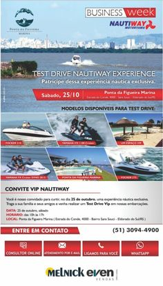 Participe dessa experiência náutica exclusiva! http://dld.bz/dvqN2 #melnickeven