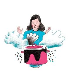 Scorched the stew? Boiling some soapy water can help remove those stains from your pots.