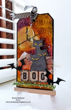 Bewitched! 12 Tags of 2014 ~ October