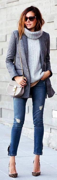 Fashioned Chic Cozy Layers Fall Inspo