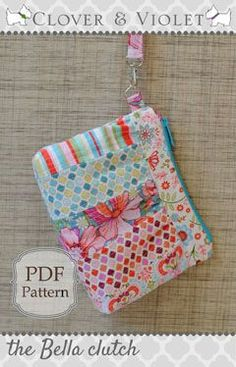 The Bella Clutch - Free PDF Sewing ePattern