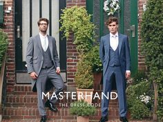 What 2017 GROOMS will be wearing: An interview with menswear, Masterhand • Wedding Ideas magazine