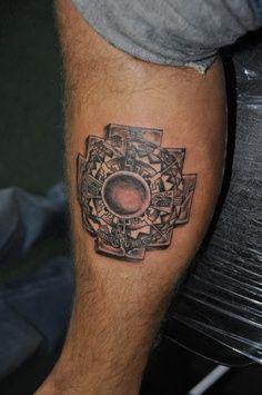 chakana cross tattoo | Inca cross