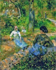 Camille Pissarro 1830 - 1903 Peasants Resting, 1881