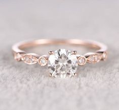 Get it from Popring on Etsy for $425+. / Sizes: 4-9 / Available in 3 materials  https://www.buzzfeed.com/briannaholt/jaw-dropping-engagement-rings-that-are-under-500?utm_term=.wdKdjEGnq#.sx8AVNRJj #DazzlingDiamondEngagementRings