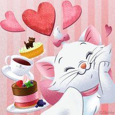 Disney Phone Wallpaper, Cartoon Wallpaper, Gata Marie, Marie Cat, Disney Cats, Disney Pictures, Disney Drawings, Cute Illustration, Disney Love