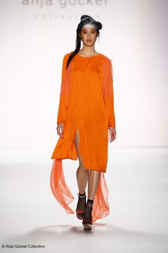 Anuthida Ploypetch for Anja Gockel, Berlin Fashion Week, Jan. 2016
