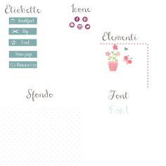MaPetitHome: °° Blog Design °° nuova grafica per Letizia