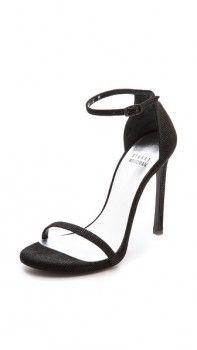 Stuart Weitzman Nudist Single Band Sandals worn by Kourtney on Keeping Up With The Kardashians. Shop it: http://www.pradux.com/stuart-weitzman-nudist-single-band-sandals-33065?q=s26