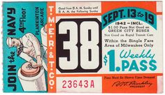 Farewell to Milwaukee's Classic, Hand-Crafted Bus Passes - CityLab