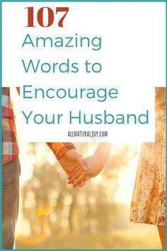 word to encourage husband